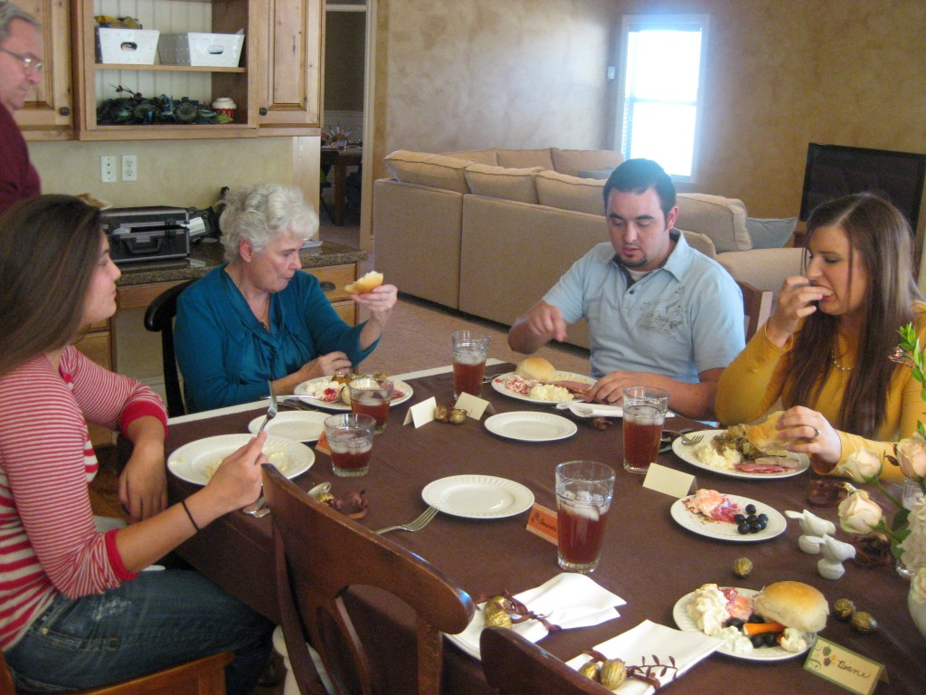 Katie, Grandma, Allen, Whitney